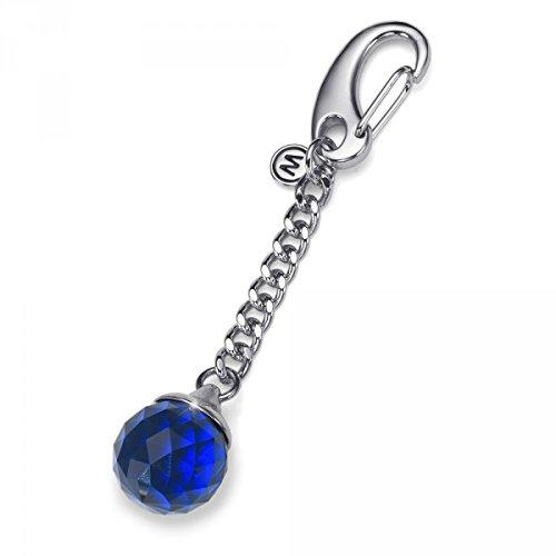 Oliver weber portachiave feng shui blu crystals from swarovski
