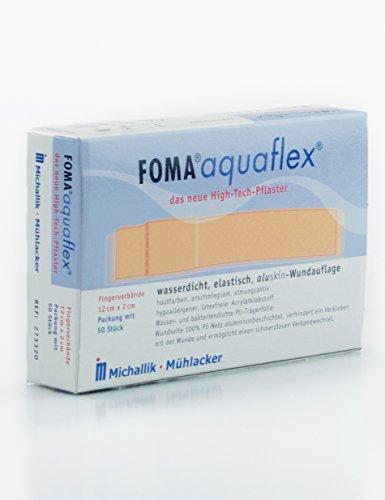 Wasserfeste Fingerverbände aquaflex von FOMA® (12x2cm, 50 Stk.)
