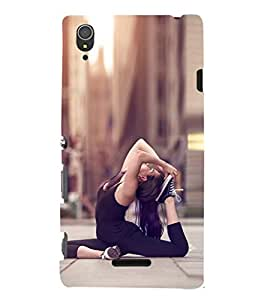 EPICCASE Fit and Fine Mobile Back Case Cover For Sony Xperia T3 (Designer Case)