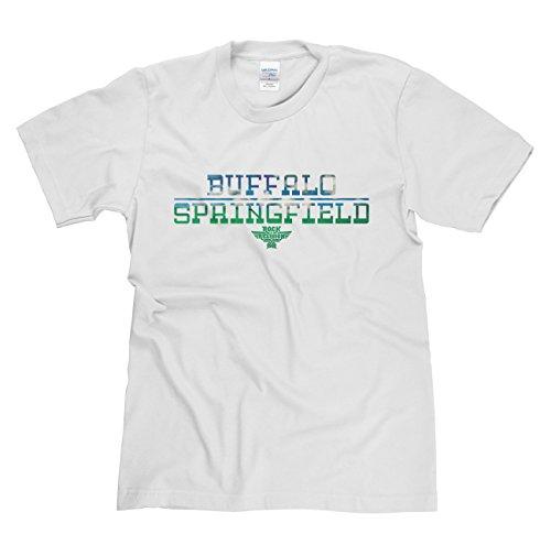 Rock is Relgion Buffalo Springfield Classic Rock Musik Legends Retro-T-Shirt Weiß