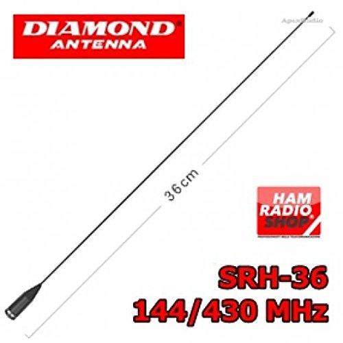 Diamond srh-36 Antena bibanda portatil 144-430 MHz
