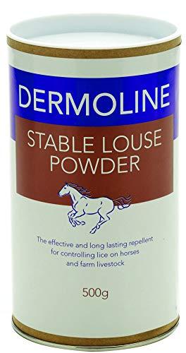 Dermoline stabile vermiesen, Puder Equine Pferd fliegen, vermiesen, & Insekten Control 500 GM