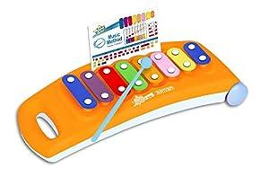 Bontempi- XLR 0825 Xilófono, Color Naranja (Spanish Business Option Tradding