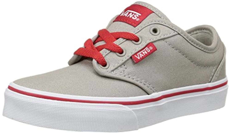 Vans Atwood, Boys' Low-Top Sneakers, Beige (varsity/gray/red), 2 UK ,33 EU