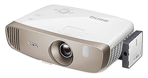 Benq W2000W Projecteur 2000ANSI Lumens DLP 1080p (1920x 1080) 3D Blanc (16: 9, 1524–7620mm (60–300), courant alternatif, 15000: 1, DLP, 1.3: 1)