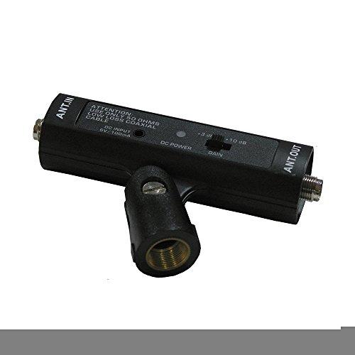 Antennen-Verstärker Gewinde mic Stand Mount, ein- und Ausgänge mit BNC,, Metall Häuser, 470-900 MHz Frequenz, CE-RoHs