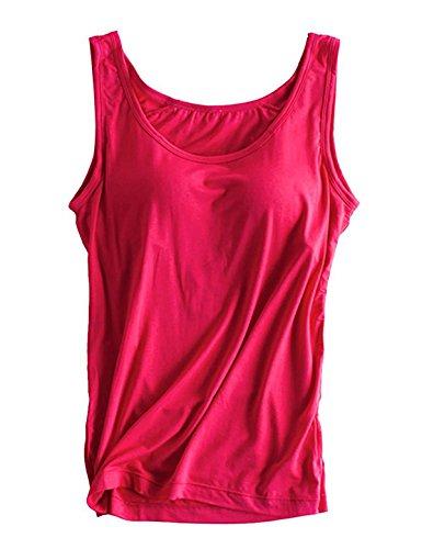 Alizeal Damen Unterhemd Hot Pink
