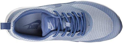 Nike Air Max Thea Textile Women, Baskets Basses Femme Azul (BLUE GREY/OCEAN FOG-WHITE)