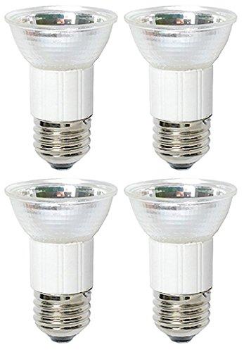 4Stück 75Watt JDR MR1675W 120Volt Medium Sockel Halogen Flood Lampe E26120V Mini Reflektor Leuchtmittel -