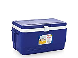 Aristo Insulated Chiller Icebox Red Or Blue 50 Liters (Free Ice Tray Pack of 2)