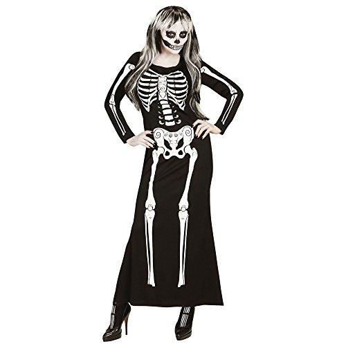 ed009068e4 WIDMANN 65669 Adultos Disfraz Esqueleto para Mujer