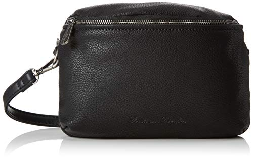 Fritzi aus Preussen Damen Harper Belt Beuteltasche (16x3.5x23 cm) - Schwarz Belt Tasche