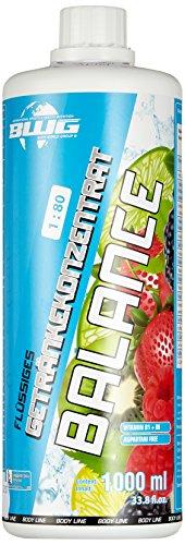 BWG Vitamin & Mineral Getränk, Electrolyte Konzentrat (Naturtrüber Apfel), Vegan, (1 x 1000 ml Flasche), Inklusive Dosierspender, 1er Pack (1 x 1 l) (Natürliche Vitamine Kleinkind)