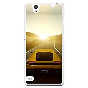 a AND b Designer Printed Mobile Back Cover / Back Case For Sony Xperia C4 (SONY_C4_752)