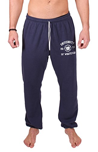 Lacoste-baumwoll Trainingshose (University of Whatever Lightweight Unestablished Sportanzugshose für Herren - Bequeme Jogginghose für Gym oder zuhause (Marineblau, 2XL))