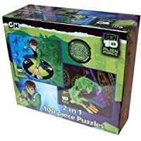 Ben 10 Alien Force 2 In 1 100 Piece Puzzle by Pressman Toy International