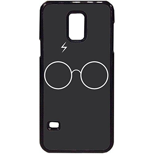103 Designs Harry Potter Coque Samsung Galaxy–Minimaliste Harry, Samsung S5 Mini