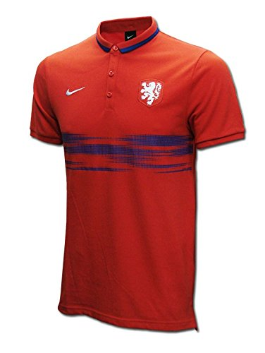 "Nike - Holanda Polo Rojo 15/16 Hombre Color: Red Talla: XXL 50-52"" Chest (124/136cm)"