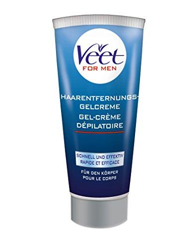 Veet for Men Haarentferungs-Gelcreme, 1er Pack (1 x 200 ml)