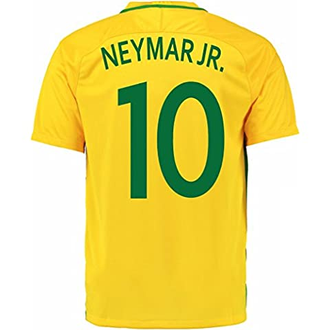 Adidas Neymar Jr. # 10Brazil Home Football