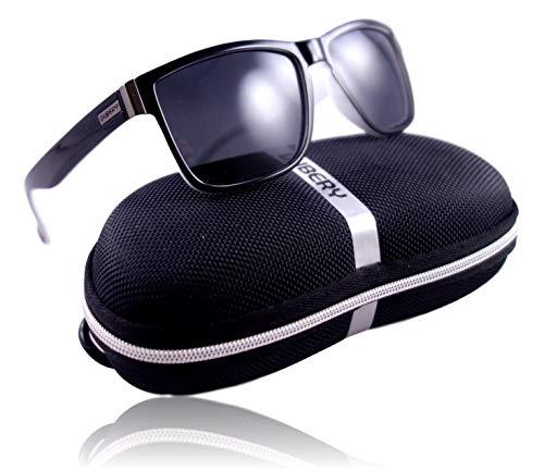 bcccfa0ab9 WinLook – Lunettes de Soleil en Verre Polarisé Certifiée UV400 –  Confortables et Légères - Design