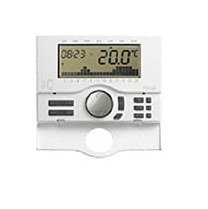 Vimar 01913 cronotermostato gsm 120 230v bianco amazon for Termostato touchscreen gsm vimar 02906