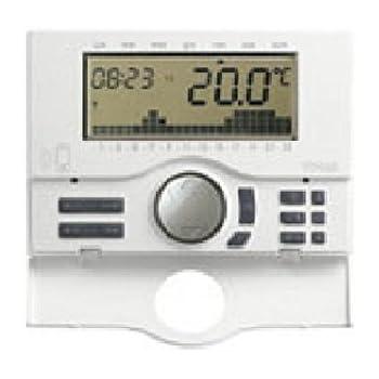 Vimar 01913 - Cronotermostato GSM 120-230V, Bianco