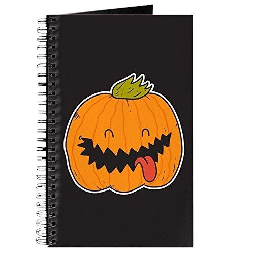 CafePress - Halloween Jack O'lantern - Spiralgebundenes Tagebuch, persönliches Tagebuch, liniert (Halloween Monster Liste)