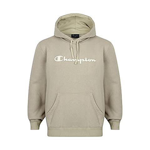Champion Athletic Mens Hooded Sweatshirt Large Logo Hoodie Nude Stone Collection. STYLE - 209396-2572 LIGHT STONE. SIZE - X-LARGE.