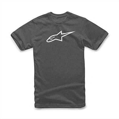 Classic - Herren T-Shirt aus 100% Baumwolle, Sportlicher Kurzarmshirt, Körperbetonter Schnitt - Dunkelgrau ()