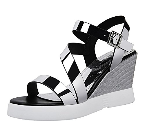 fq-real-balck-friday-womens-ankle-strap-metal-featured-dress-platform-wedge-sandals-45-uksilver