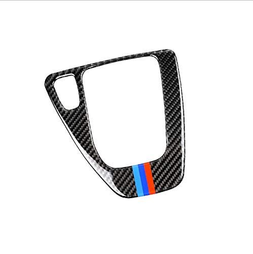 NKCTF-Car sticker 2 Pcs Carbon Fiber Trim, Auto interne Fahrzeuglackschutzfolien und Carbon-Faser-Wraps, Carbon Gear Position Panel for B-M-W 3-Serie (Packung mit 2 Stück) (Size : Left) -