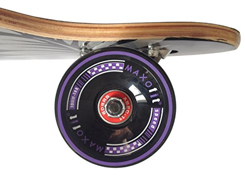 MAXOfit Deluxe Cruiser Longboard (Mystic No.16) Sonderaktion -