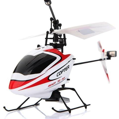 Bluelover WLtoys V911 helicóptero de RC de Control remoto 2.4GHz 4CH con Gyro modo 2