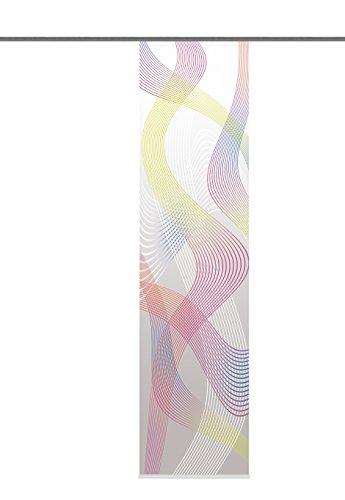 Home Fashion 87665-704 Cavallone - Panel japonés con impresión digital (con rieles y sujeciones, 245 x 60 cm)