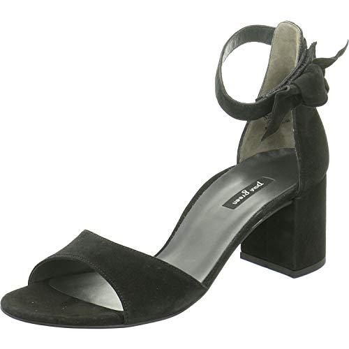 Paul Green Damen Sandalette Größe 39 EU Schwarz (schwarz)