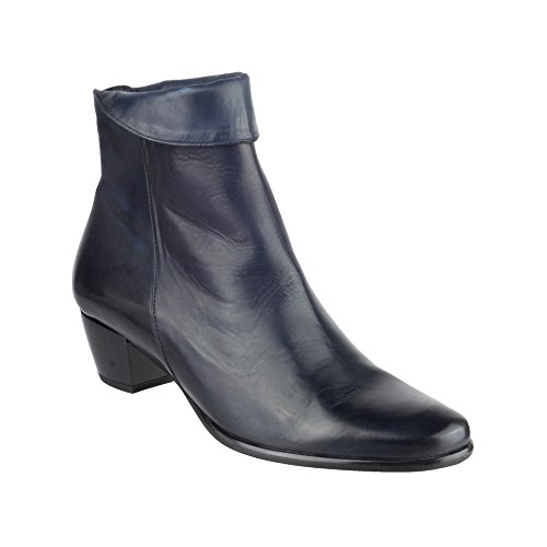 Riva Armadillo - Bottines en cuir - Femme Fauve