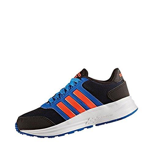 adidas CLOUDFOAM SATURN K - Zapatillas de deportepara niños, Negro - (NEGBAS/ROJSOL/AZUL), 28