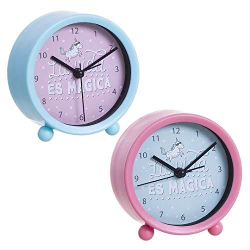 Reloj Despertador Unicornio 2C 12/24-36