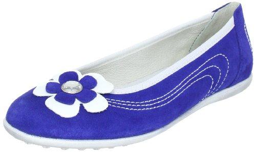 Richter Kinderschuhe Diva 72.3013 Mädchen Ballerinas Blau (cobalt/weiß)