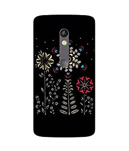 Abstract Flower Motorola Moto X Play Case