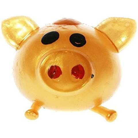New Smash-it Stress Relief Jelly Soft Pig Ball Random Color by Toygat