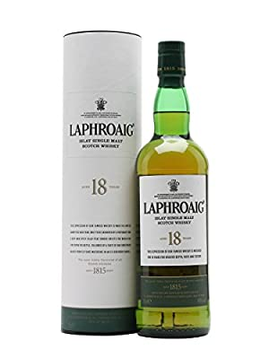 Laphroaig 18 Year Old Single Malt Scotch Whisky 70cl Bottle