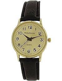 Philip Mercier SML43A - Reloj para mujeres color negro