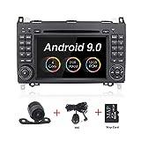 Android 8.1 lettore DVD GPS 7 pollici touch screen Radio stereo per Mercedes-Benz B200 A Classe B W169 W245 Viano Vito W639 Sprinter W906