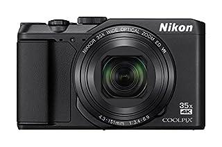 """Nikon Coolpix A900 - Cámara compacta de 20.3"""" (WiFi, Bluetooth, 4K UHD, CMOS, Nikkor, modo PSAM, zoom 35x, reducción de la vibración, AF, TFT LCD inclinable) negro (B01C672JPS)   Amazon Products"""