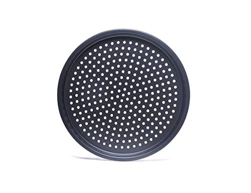 SHAFIRE 28cm Nonstick Pizza Pan Baking Tray Plate with Holes Pizza Baking Tool