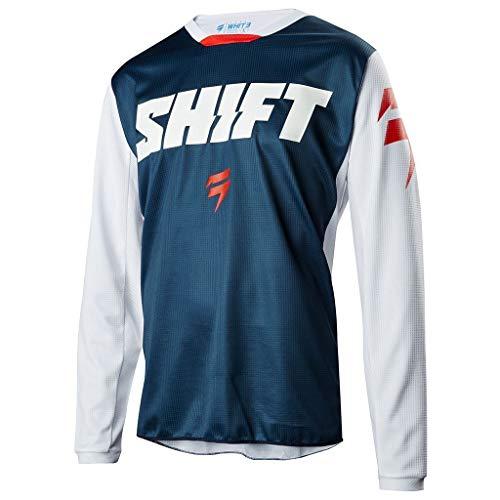 Shift Brustpanzer Whit3 Ninety Seven Jersey, Blue, Größe L Relaxed Fit-shift