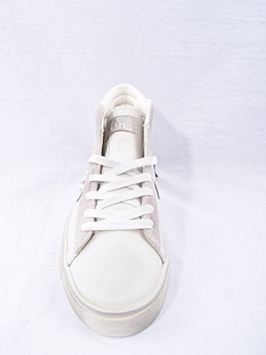 Converse Pro Leather Mid Star, Sneakers Homme Blanc (Star White/mouse/turtledove)