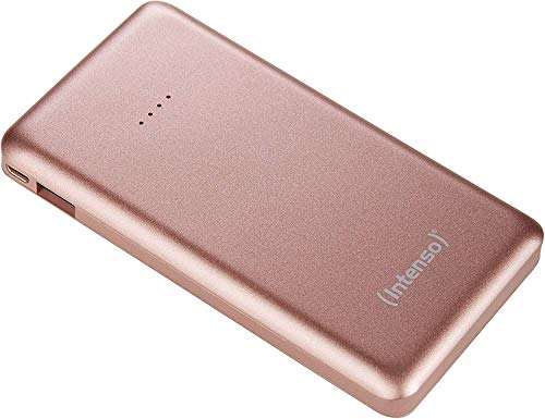 Intenso 7332533 Powerbank S10000 Slim externes Ladegerät (10000mAh, geeignet für Smartphone/Tablet PC/MP3 Player/Digitalkamera) rosé